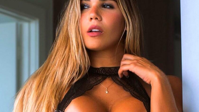 Estefanía Pereira es victima de agresión.