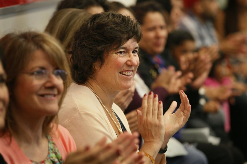 San Diego Unified Superintendent Cindy Marten