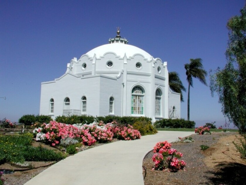 A tour of the campus of the Rosicrucian Fellowship in Oceanside is part of its Founder's Day celebration which includes a rare glimpse inside the temple.