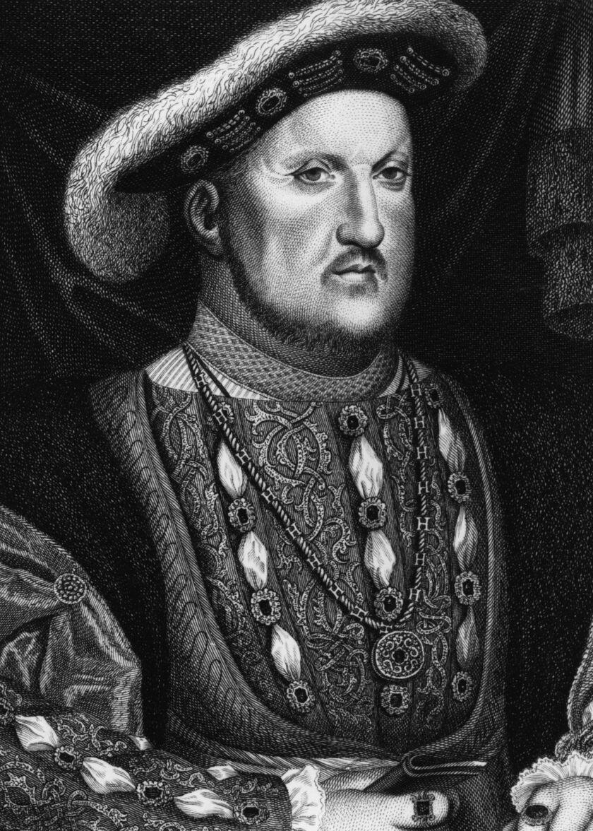 Henry VIII, circa 1540.