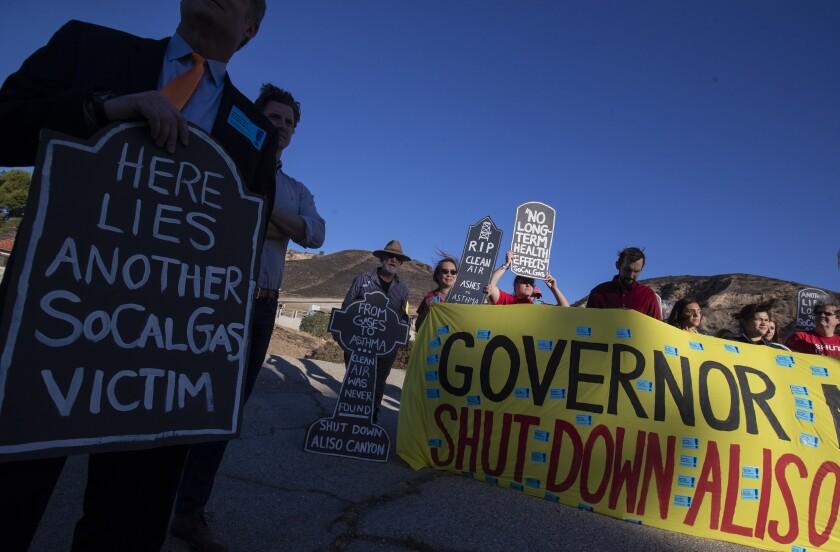 Aliso Canyon rally