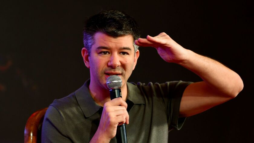 Travis Kalanick resigned as CEO of Uber in June.
