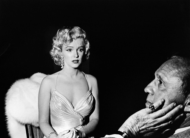 Marilyn and Jack Benny