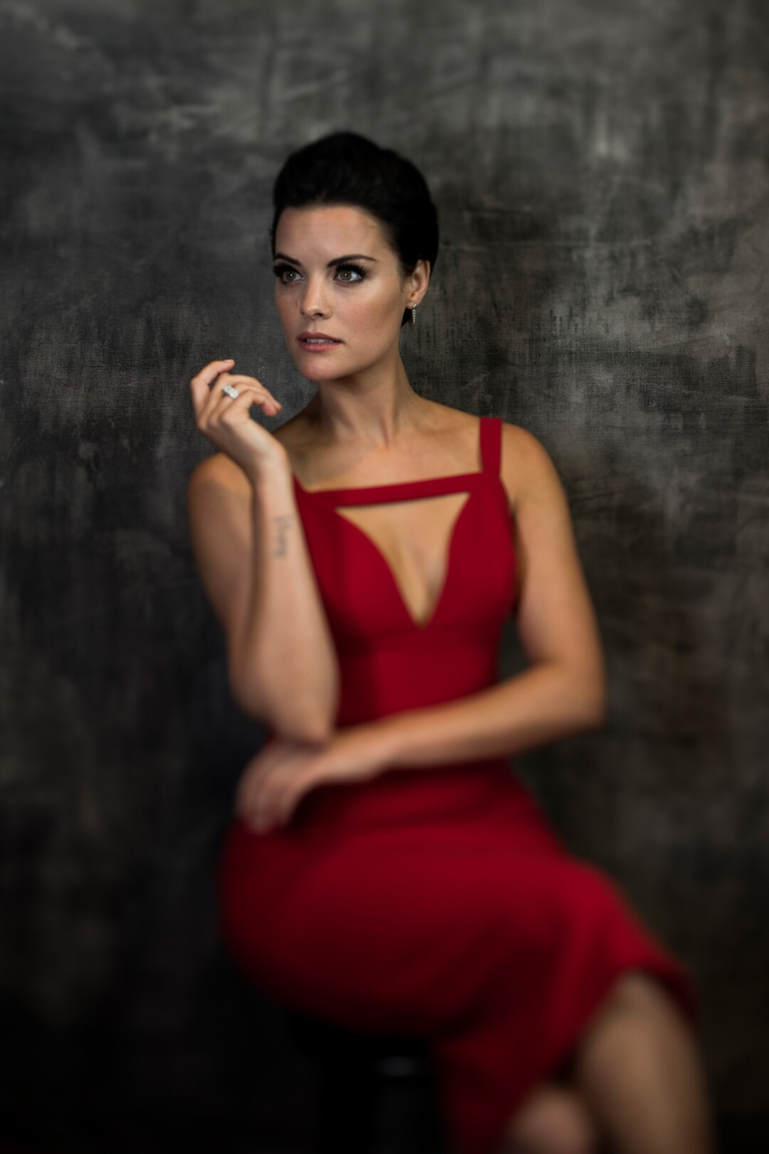 """Jaimie Alexander of """"Blindspot,"""" photographed in San Diego at Comic-Con 2016."""