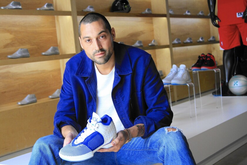 David Raysse, an athletic shoe industry veteran, is the founder of El Segundo-based athleisure company Brandblack, which is moving into making full men's apparel collections.
