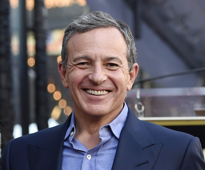 Bob Iger served as chief executive of Walt Disney Co. for 15 years and has assumed the role of executive chairman.