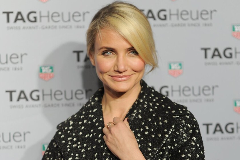 "Cameron Diaz stars in a new film about infidelity with Leslie Mann, Kate Upton and Nicki Minaj called ""The Other Woman."""
