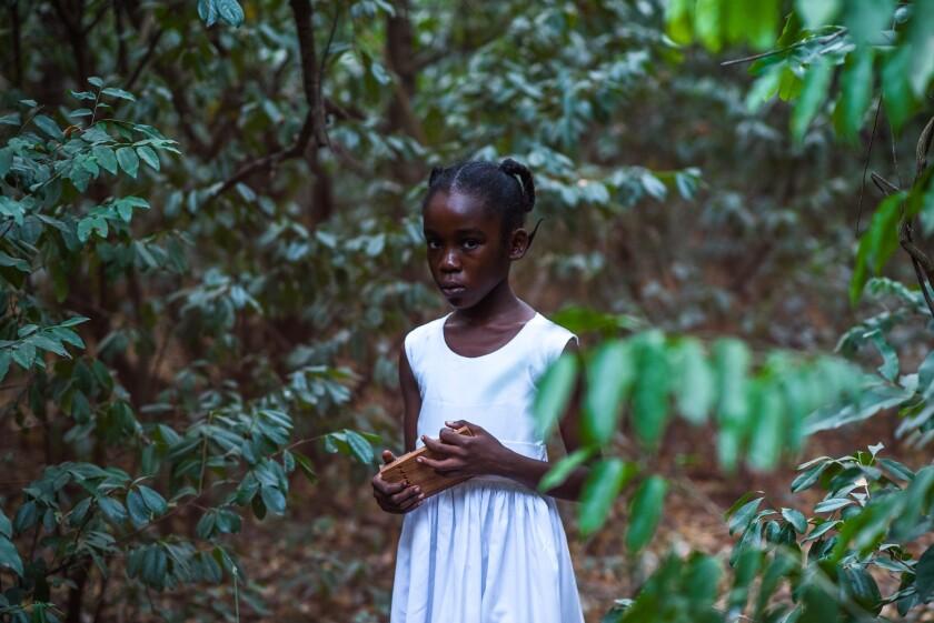 "Cynthia Dankwa (Esi) in a scene from ""The Burial of Kojo."" Credit: Ofoe Amegavoe/Direct Current Mgmt"
