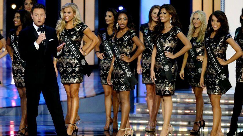 The 2015 Miss America Pageant in Atlantic City, N.J.