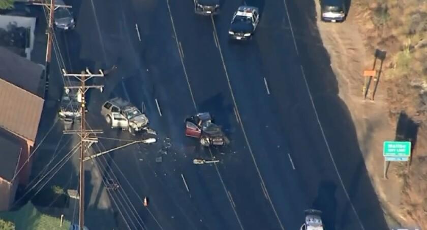 A fatal crash on Pacific Coast Highway