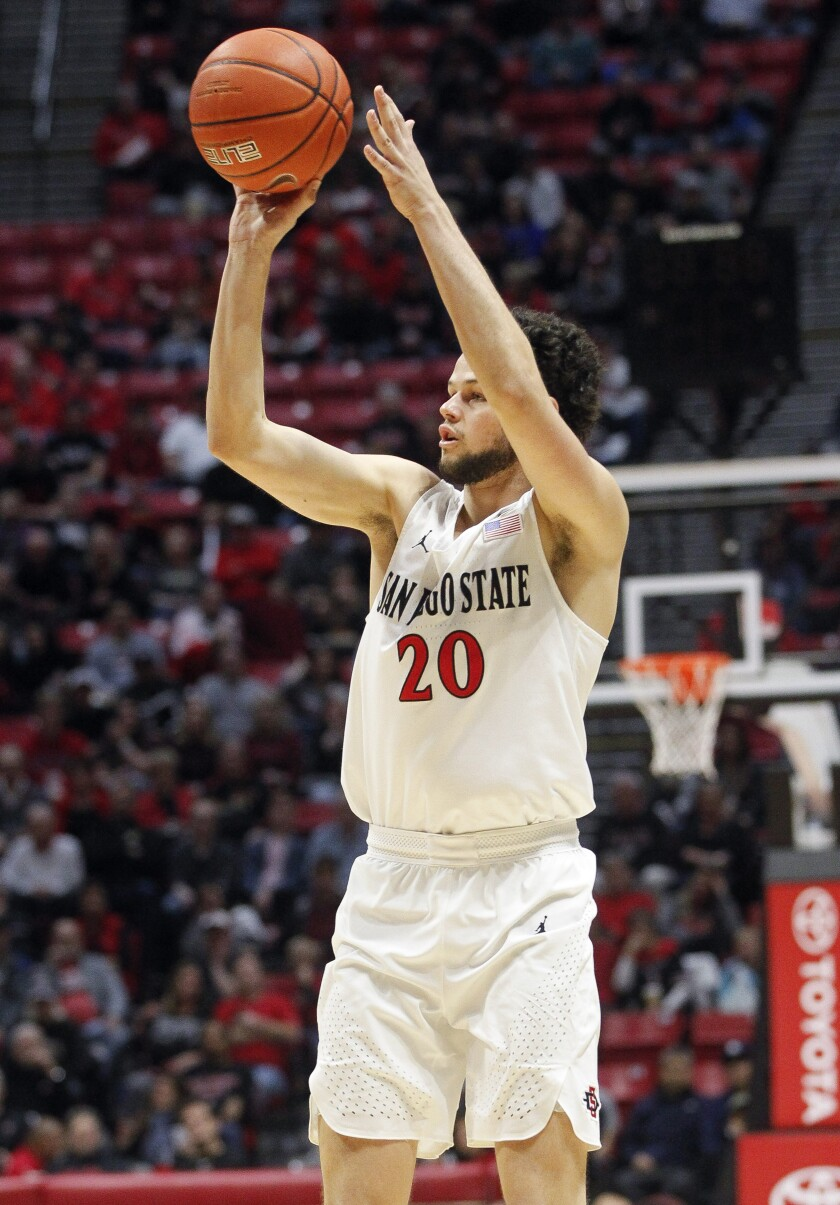 SDSU's Jordan Schakel and the art of shooting (and hard work) - The San Diego Union-Tribune