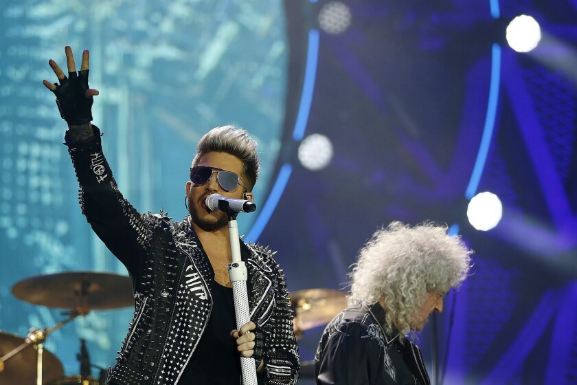 British rock group Queen