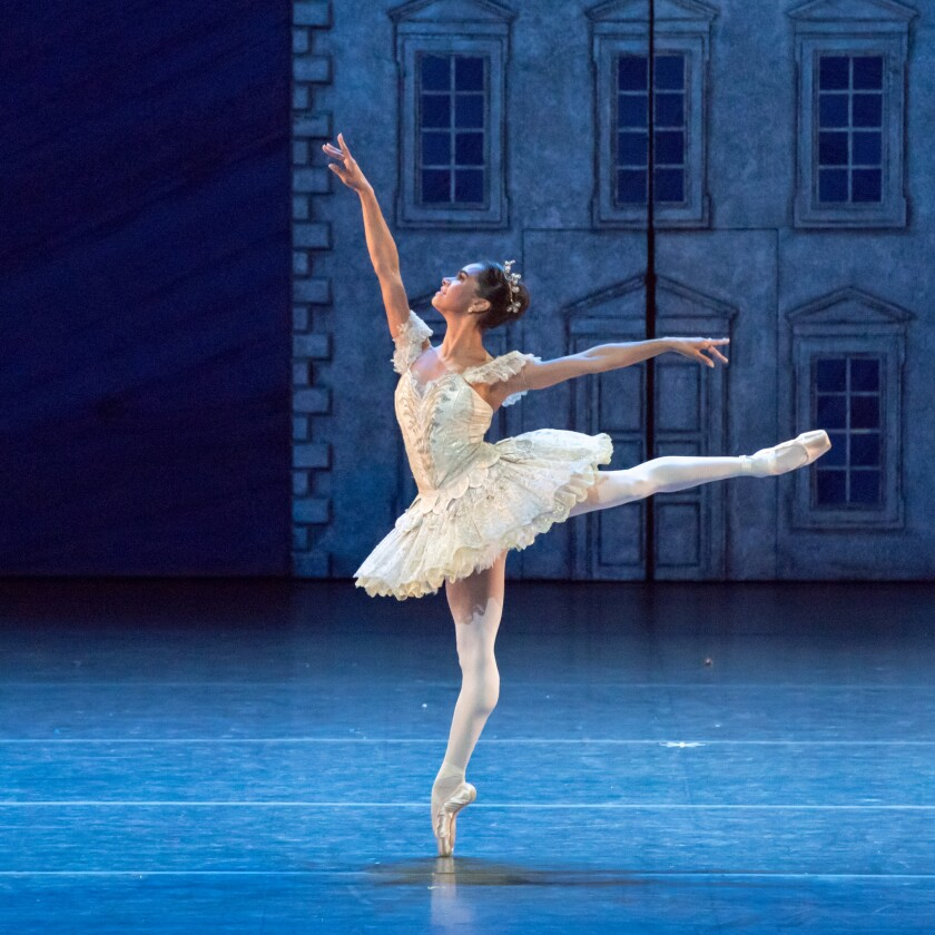 """Misty Copeland in the American Ballet Theatre production of """"The Nutcracker."""""""