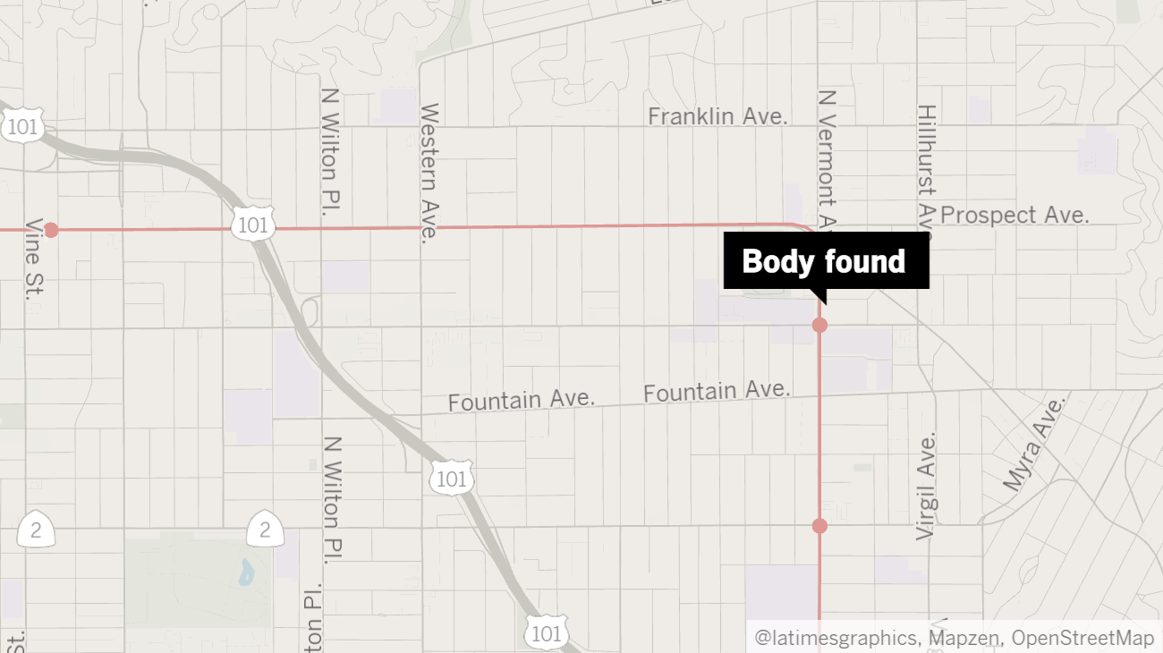 La Subway Map Red Line.Man S Body Found In Metro Red Line Tunnel In Hollywood After