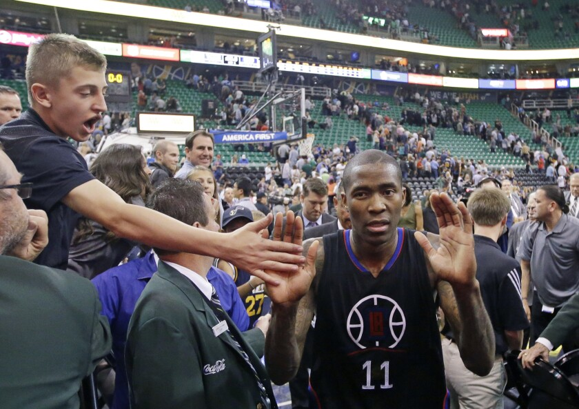 Clippers' Jamal Crawford wins first Elton Brand Media Recognition Award