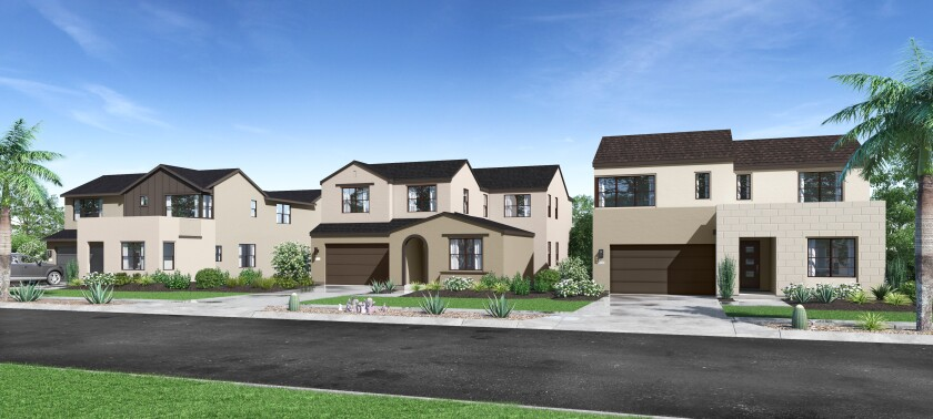 Sendero Collection offers homes with up to six bedrooms, 5½ bathrooms and three-bay tandem garages.