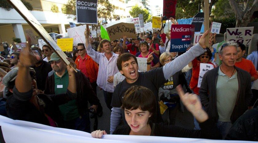 Occupy San Diego gets under way
