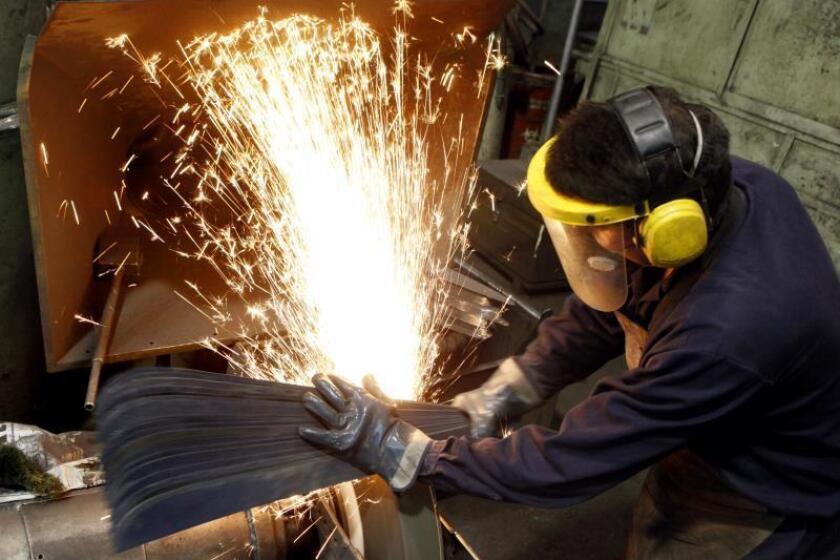 La producción industrial en México cae el 1,7 % en julio