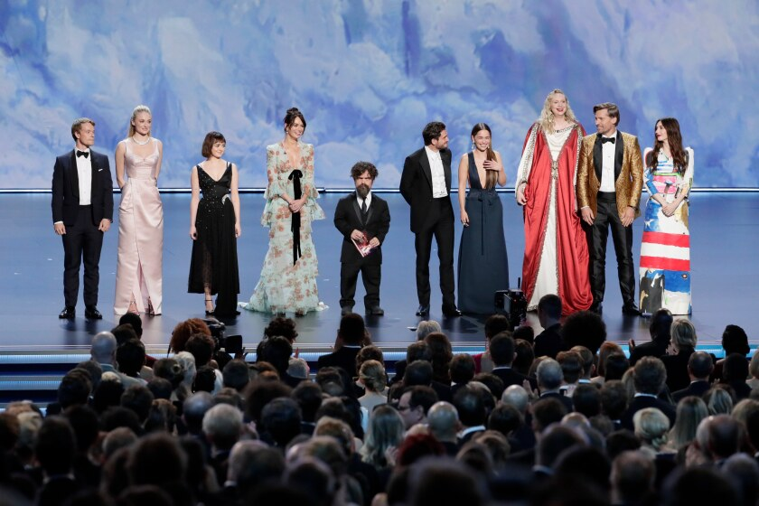"Una despedida final de los Emmy para ""Game of Thrones."""