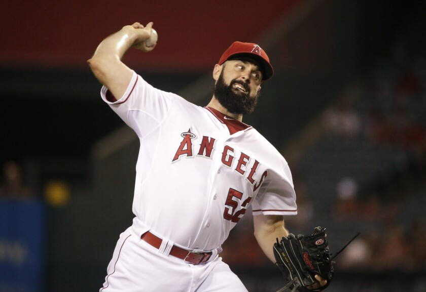 Matt Shoemaker last made a start for the Angels on Sept. 15, but he said he'll be ready to go for the American League division series.