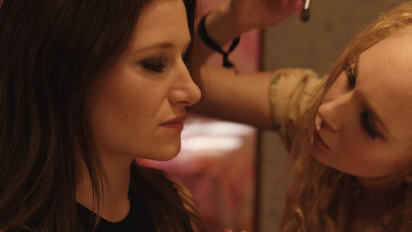 """Kathryn Hahn (left) and Juno Temple star in """"Afternoon Delight."""""""