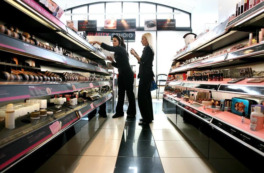 makeup counters