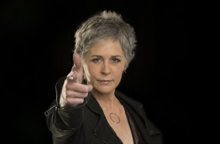 "Melissa McBride talks ""The Walking Dead"""