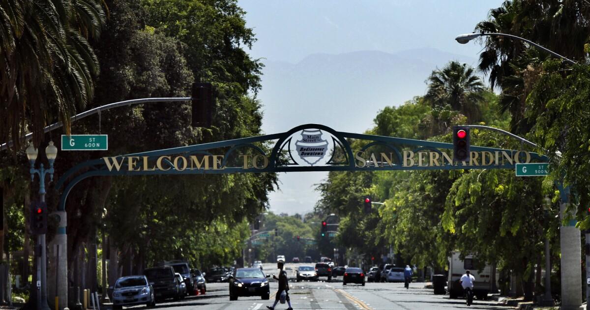 San Bernardino County sheriff Stellvertreter, Feuerwehrleute test positiv coronavirus