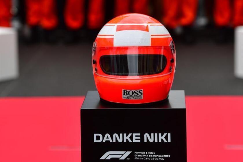 La parrilla guarda un minuto de silencio en memoria de Niki Lauda en el Gran Premio de Mónaco