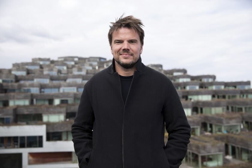 """Danish architect Bjarke Ingels, 42, is featured in the new Netflix documentary series """"Abstract: The Art of Design."""""""