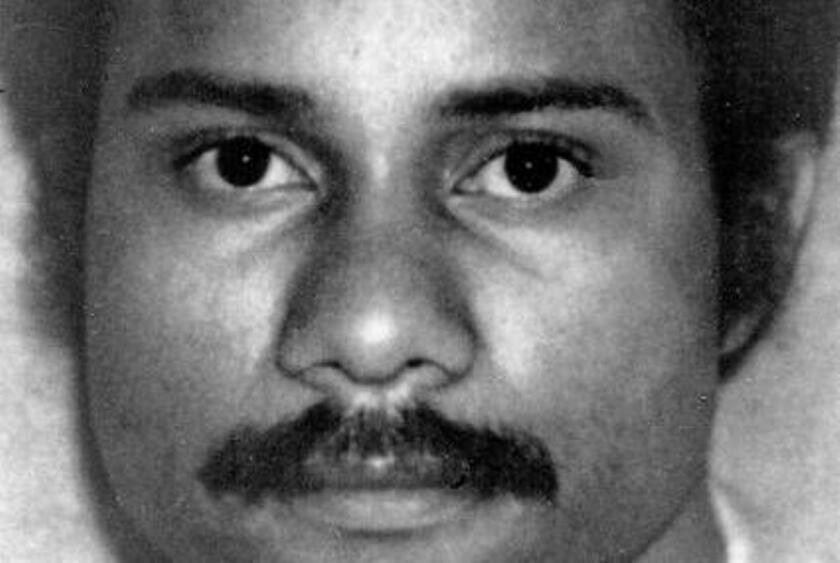 San Diego police officer Archie Buggs was shot to death during a routine traffic stop in 1978. His killer, Jesus Cecena, is set for a parole hearing Friday.