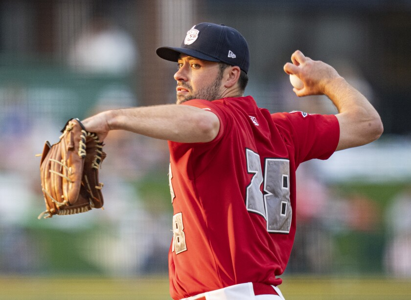 Padres pitching prospect Matt Waldron began the 2021 season at high Single-A Fort Wayne.