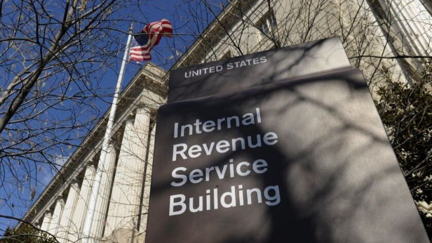 The IRS was given until Wednesday by a House committee chairman to turn over six years' worth of tax returns filed by Donald J. Trump.