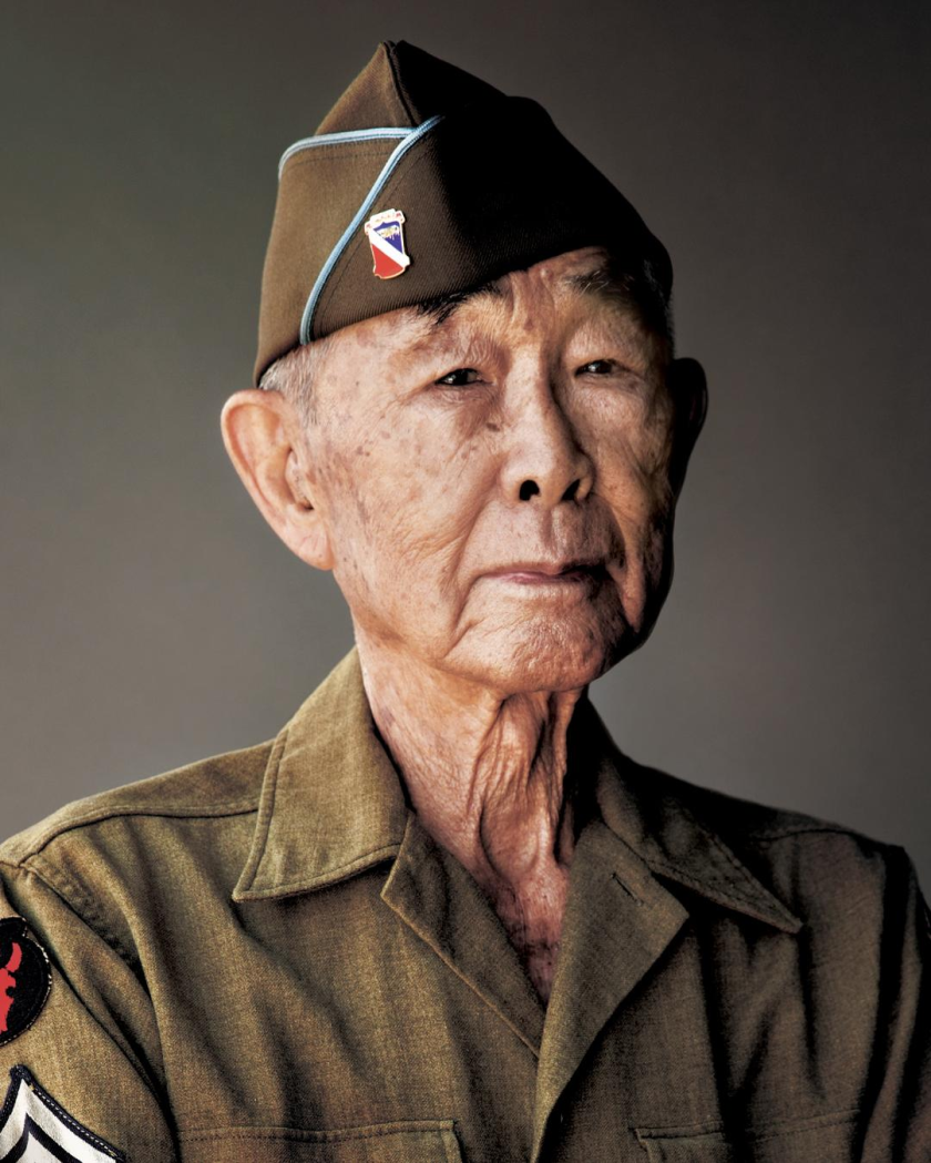 Frank Wada Sr., photographed in 2018 by Shane Sato
