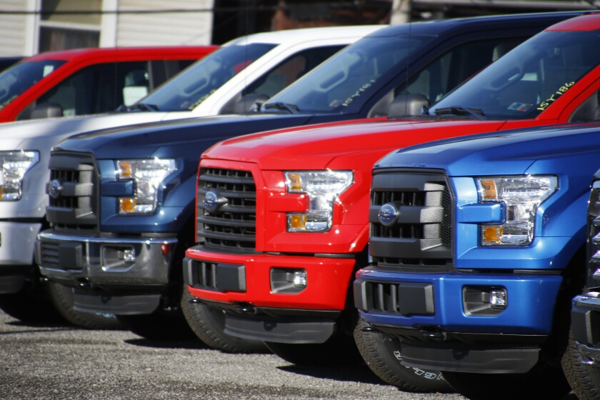 Ford F-150 pickup trucks
