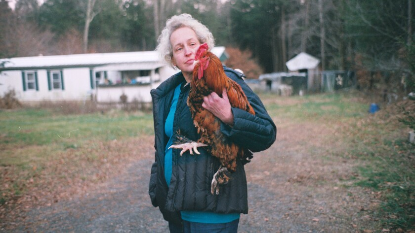 "Kathy Murphy in a scene from ""For the Birds."" Credit: Lunamax Films"