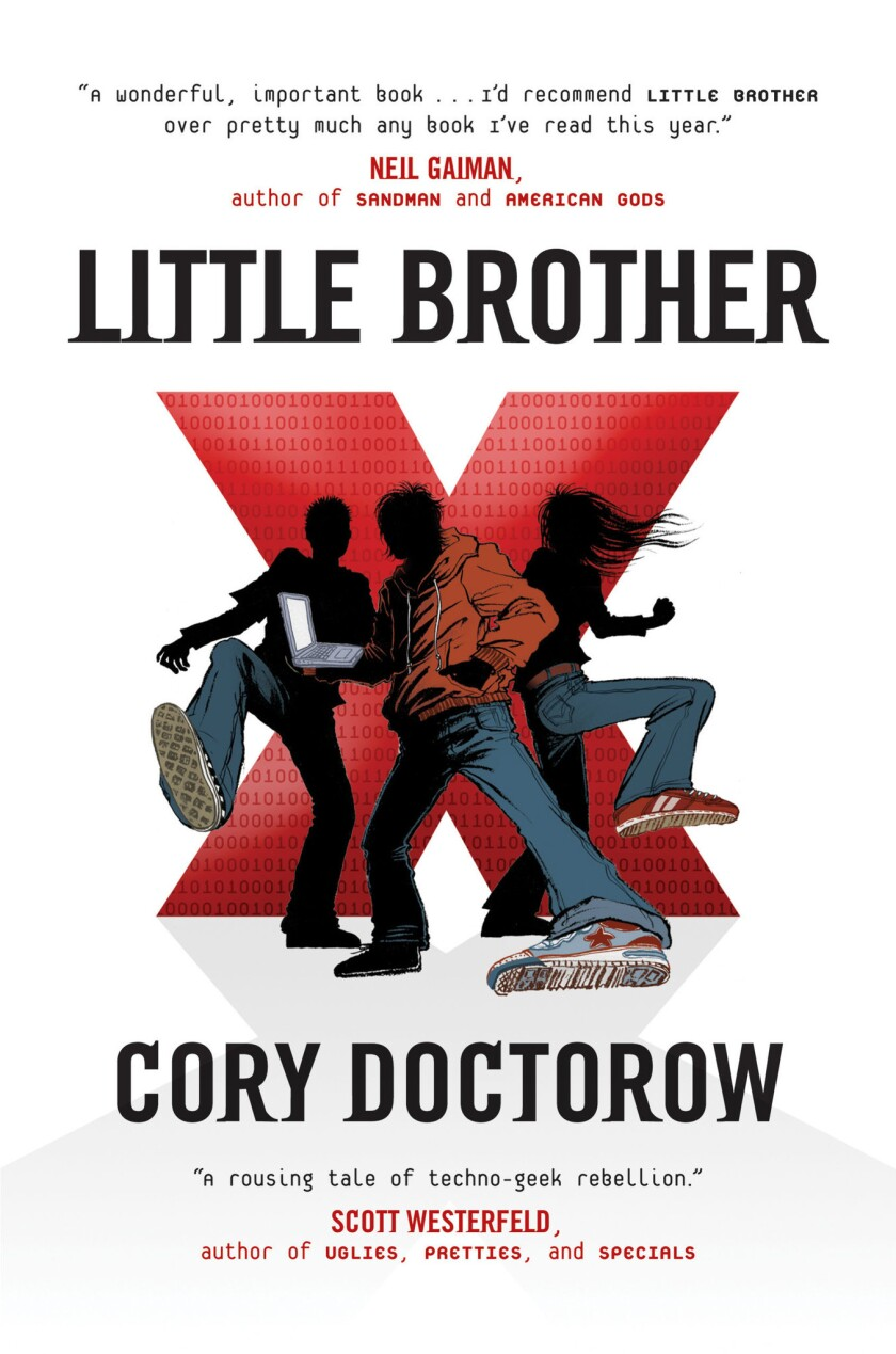 """Cory Doctorow's """"Little Brother"""" was pulled from a Florida school reading program."""
