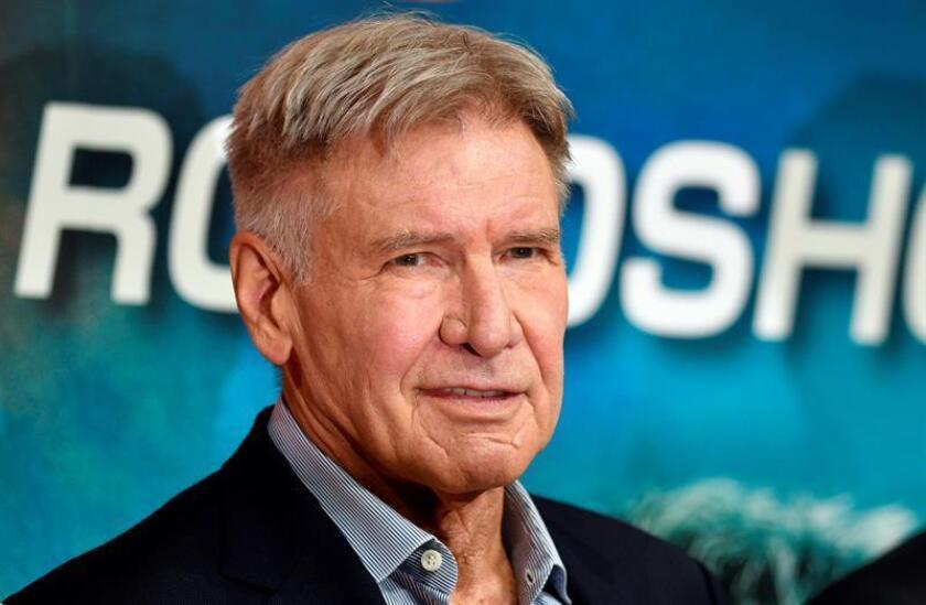 El actor estadounidense Harrison Ford. EFE/Archivo