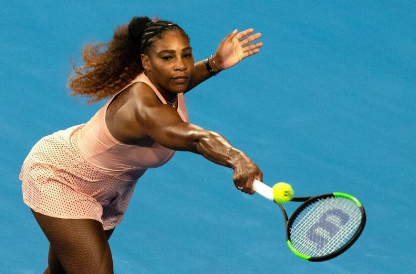 Serena Williams durante su partido. EFE