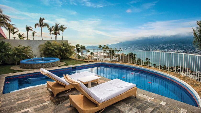 Casitas at Las Brisas Acapulco have private pools. Through Dec. 20, rates are $153.75 per night.