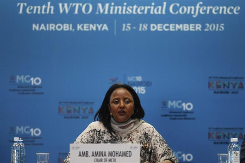 La actual ministra nigeriana de Medio Ambiente, Amina Mohammed, será la próxima vicesecretaria general de la ONU, según anunció hoy el próximo jefe de la organización, António Guterres. EFE/ARCHIVO
