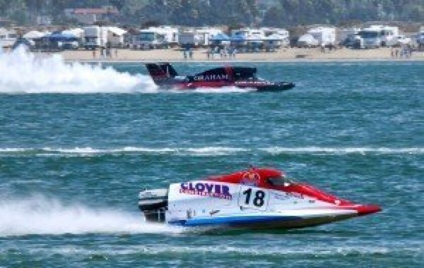 AutoMatters+: Unlimited Hydroplane Racing at San Diego Bayfair 2014