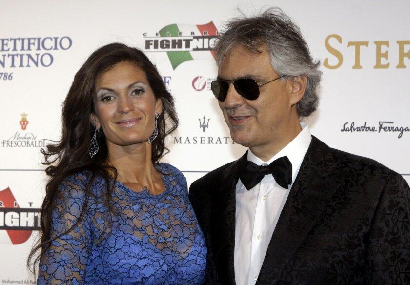 Andrea Bocelli to kick off US tour in Las Vegas - The San
