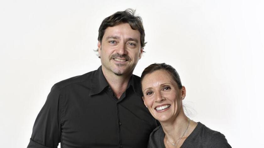 Guido Nistri and Valentina DiPietro of Bencotto Italian Kitchen and Monello restaurants in Little Italy. (Rick Nocon)