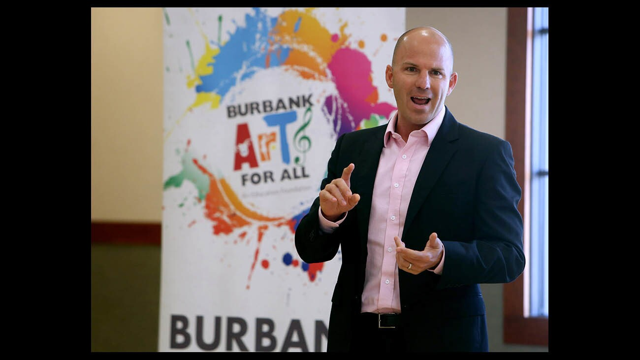 Photo Gallery: Burbank Arts for All foundation holds first of the year Community Exchange