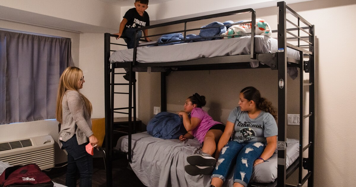 Homeless families moving into city-owned motel for COVID shelter
