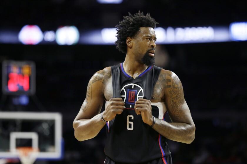 Clippers' DeAndre Jordan is spot-on as a TV pitch man