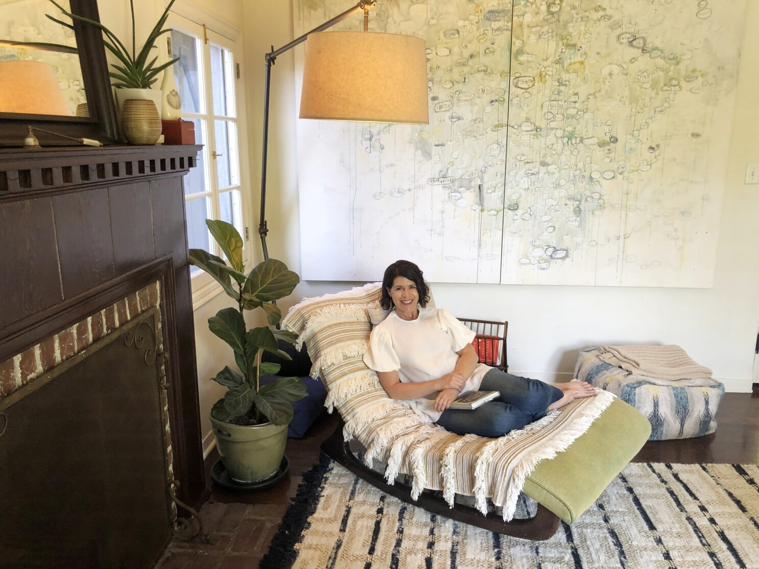 Reading Nook: The chaise lounge that made Janelle Brown feel like a grownup