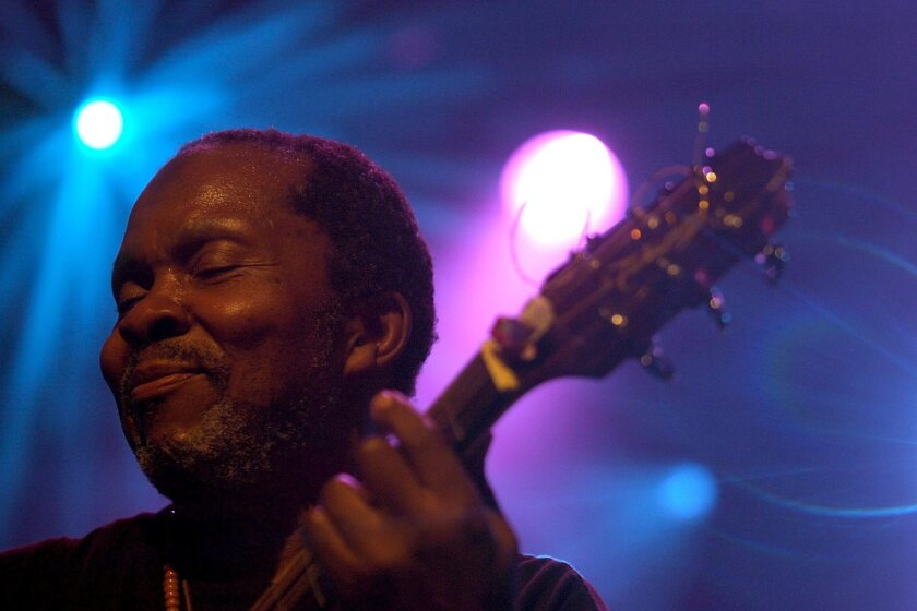 Terry Callier is seen performing on stage during the 40th Montreux Jazz Festival at the Stravinski Hall in Montreux, Switzerland, in July 2006.