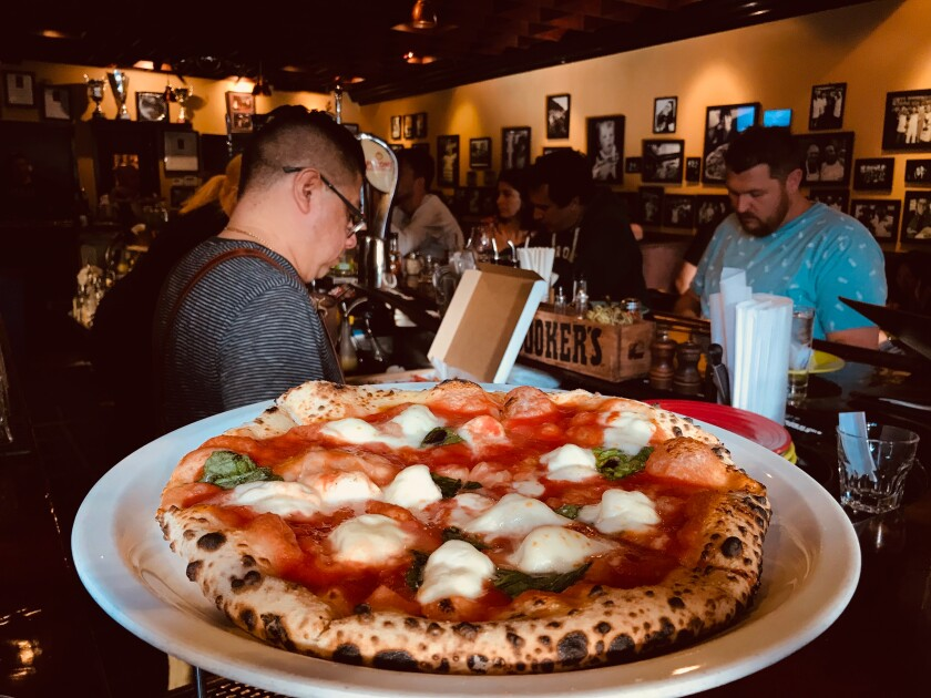 Tony's Pizza Napoletana, North Beach, San Francisco.